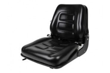 Back-Suspension Seat, Slides, Black for Equipment with Safety Switch 30000-
