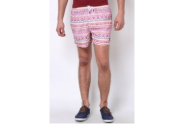 Native Youth AZTEC PRINT SWIM SHORTS