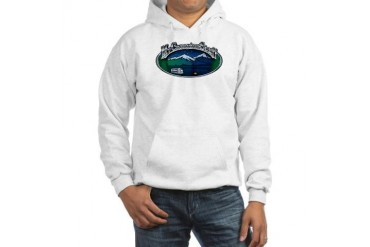 Camping Hooded Sweatshirt by CafePress