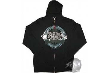 Bullet For My Valentine Guns Full Zipper Hooded Sweatshirt
