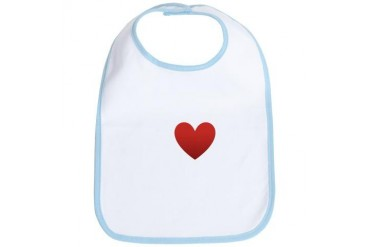 i-love-great-britain-dark-tee.png England Bib by CafePress