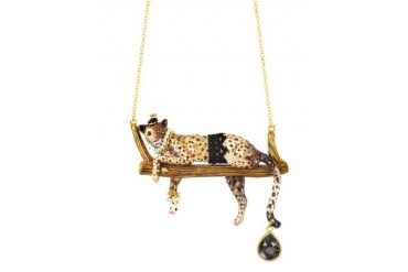 Princess Leopoldine Panther Necklace