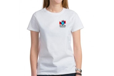 Official Dive Bus Ladies Fitted tee Sports Women's T-Shirt by CafePress