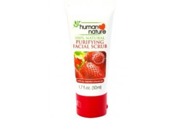 Facial Scrub with Strawberry Scrubs
