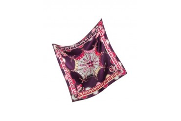 Bouquet Silk Square Scarf