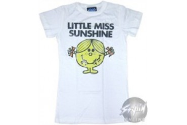 Little Miss Sunshine Basic Baby Doll Tee by JUNK FOOD