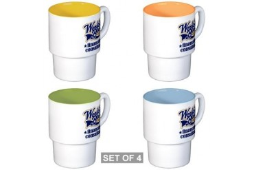Financial Consultant Worlds Best Stackable Mug S Retirement Stackable Mug Set 4 mugs by CafePress