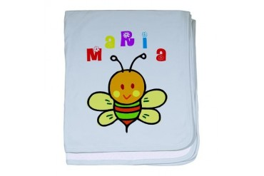 Maria Cute baby blanket by CafePress