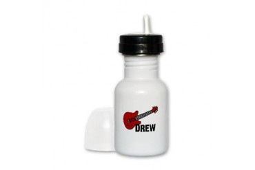guitardrew.png Funny Sippy Cup by CafePress