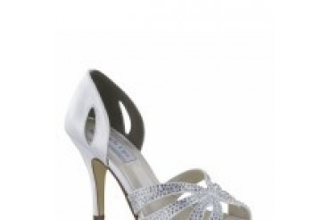 Touch Ups Shoes - Style Poise White 4057