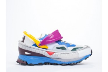 Adidas Originals X Raf Simons Response Trail Mens in White Air Force Blue size 11.0