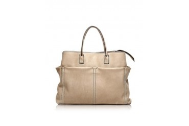 Concorde Light Brown Leather Tote