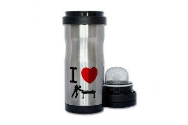 Snooker Funny Tea Tumbler by CafePress