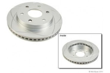 2001-2006 Chevrolet Tahoe Brake Disc ATE Premium One Chevrolet Brake Disc W0133-1921644 01 02 03 04 05 06