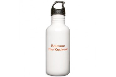 Release the Kraken Funny Stainless Water Bottle 1.0L by CafePress