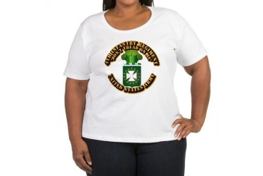 Army - COA - 4th INF Regt Women's Plus Size Scoop Military Women's Plus Size Scoop Neck T-Shirt by CafePress