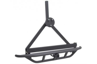Smittybilt SRC Rear Bumper and Tire Carrier with Receiver Hitch 76621 Rear Bumpers