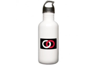 36th Division Army Stainless Water Bottle 1.0L by CafePress