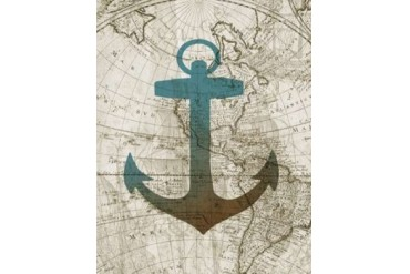 Sea Anchor Poster Print by Conrad Knutsen (22 x 28)