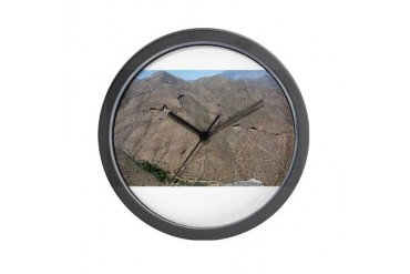 TONTONATFOREST.png Nature Wall Clock by CafePress