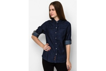 Heath Ls Chambray Shirt