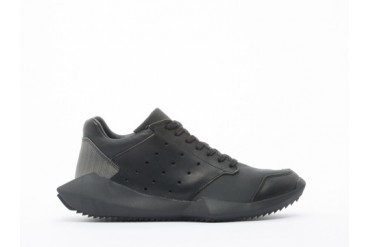 Adidas Originals X Rick Owens Tech Runner in Black Black size 10.0