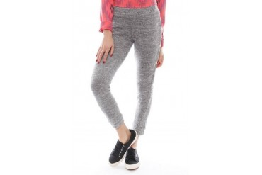 Sweater Knit Skinny Sweatpant in Granite - designed by Monrow