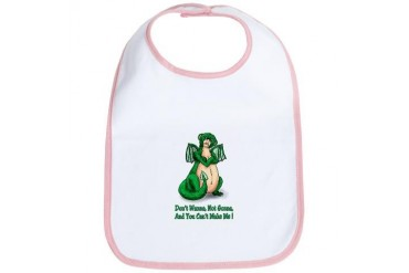 Spoiled Baby Dragon Funny Bib by CafePress