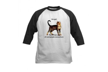 Cool people love bengals Cool Kids Baseball Jersey by CafePress