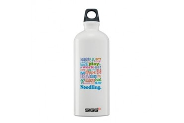 Noodling Occupation Sigg Water Bottle 0.6L by CafePress