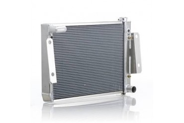 Be Cool Replacement Aluminum Radiator for 6 or 8 Cylinder Engine and Automatic Transmission 62221 Radiator