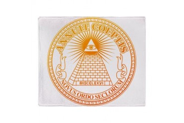 Eye of Providence 3 Stadium Blanket God Throw Blanket by CafePress