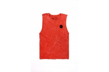 Mens Rvca Tank Tops - Rvca Motors Cutoff Tank Top