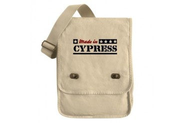 Made in Cypress California Field Bag by CafePress