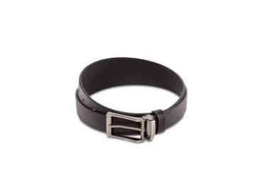 Polo Silver Buckle Leather Belt