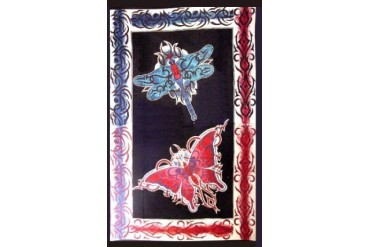 Celestial Dragonfly Tapestry
