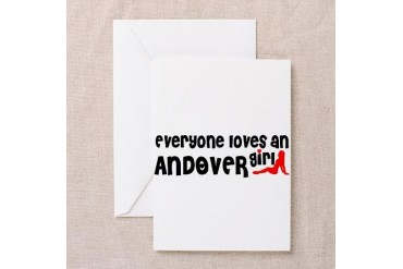 Everyone loves an Andover Girl Minnesota Greeting Card by CafePress