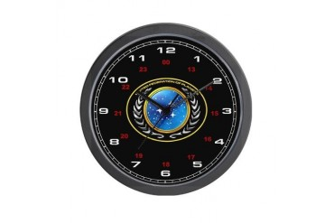 United Federation of Planets Wall Clock