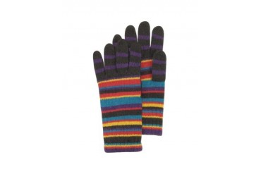 Men's Multi-Stripe Wool-Blend Gloves