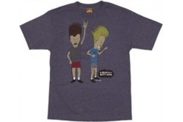 Beavis and Butthead Air Guitar Headbang T-Shirt