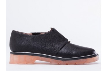 Senso Cosima in Black Grained Kid size 10.0