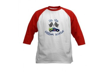 biggest brother race Kids Baseball Jersey