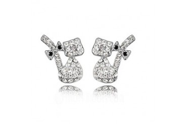 Gorgeous Alloy With Crystal Ladies' Earrings/Stud Earrings (011036382)