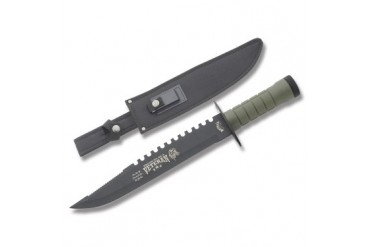 Frost Survival Scout II Proud to Be a Veteran Survival Knife