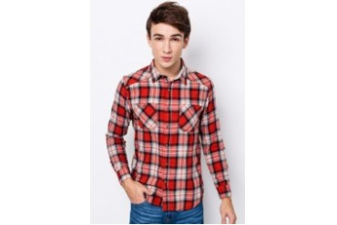 Blue Exchange Checkered Shirt