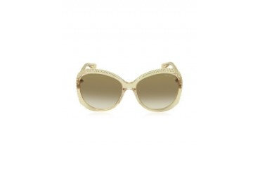 LU/S FHF42 Transparent Nude Crystal Women's Sunglasses