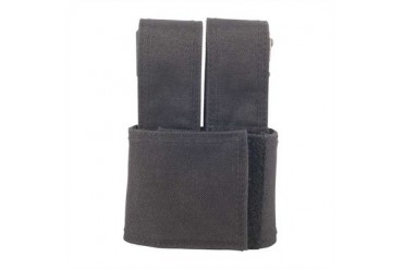Injected Molded Double Mag Pouches - Injected Molded Double Mag Pouch Black Glock 19