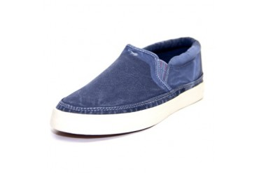 Napapijri Men s Asker Slip-on Suede Loafers Blue IT 40