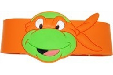 Teenage Mutant Ninja Turtles Michelangelo Head Rubber Wristband
