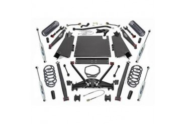 Pro Comp Suspension 4 Inch Long Arm Lift Kit with ES9000 Shocks K3091B Complete Suspension Systems and Lift Kits